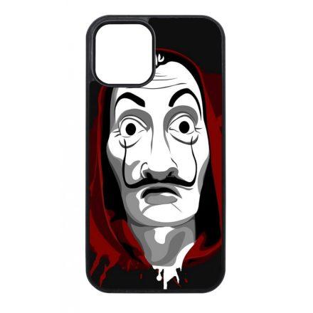 Máscara de Dali - A Nagy Pénzrablás - la casa de papel iPhone fekete tok