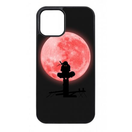 Itachi silhouette - naruto anime iPhone fekete tok