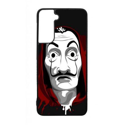Máscara de Dali - A Nagy Pénzrablás - la casa de papel Samsung Galaxy fekete tok