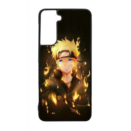 Naruto Uzumaki anime Samsung Galaxy fekete tok