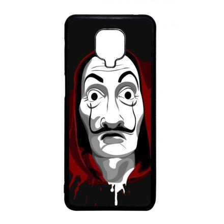 Máscara de Dali - A Nagy Pénzrablás - la casa de papel Xiaomi fekete tok