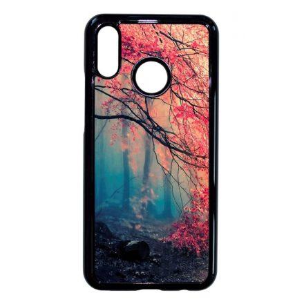 őszi erdős falevél természet Huawei fekete tok