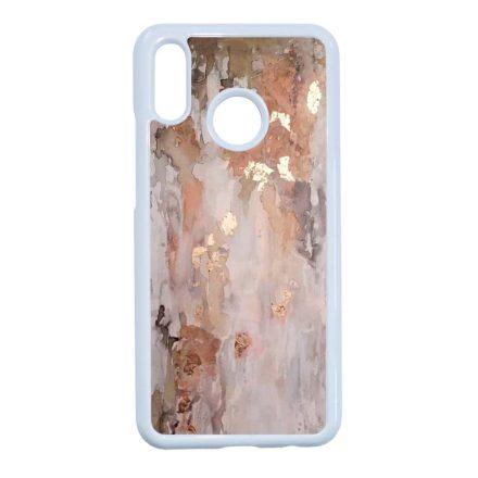 márvány márványos marble csajos Huawei fehér tok