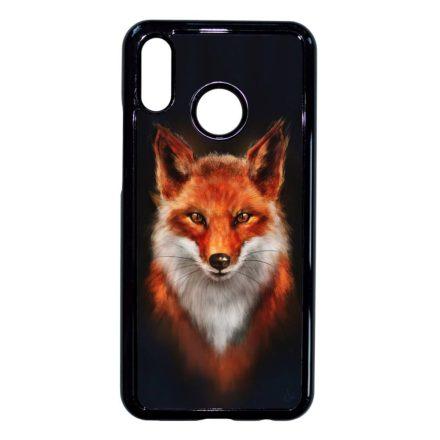 róka rókás fox Huawei fekete tok