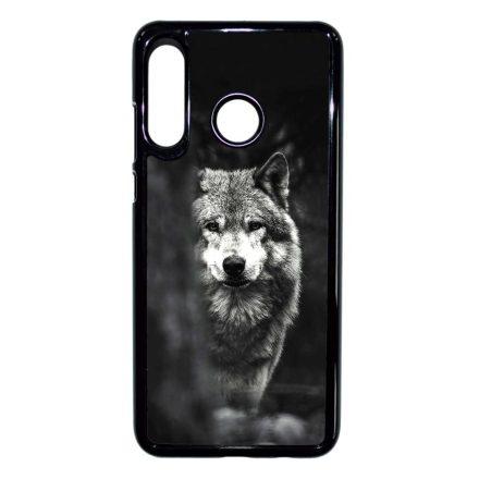 Az erdő farkasa wolf Huawei fekete tok