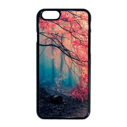 őszi erdős falevél természet iPhone fekete tok