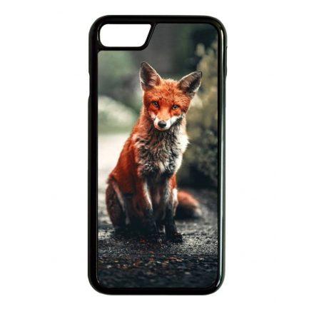 Autumn Fox őszi róka iPhone fekete tok