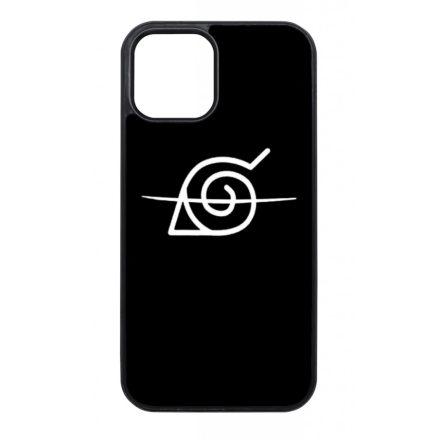 Naruto - Anti Konoha anime iPhone fekete tok