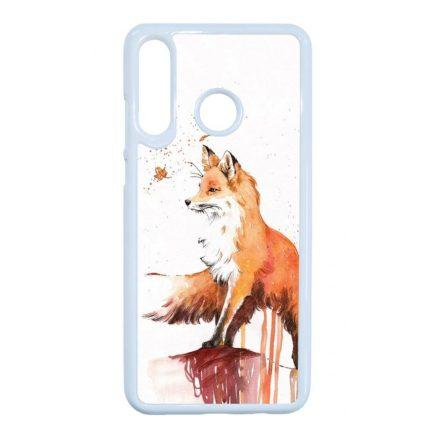 róka rókás fox Samsung Galaxy fehér tok