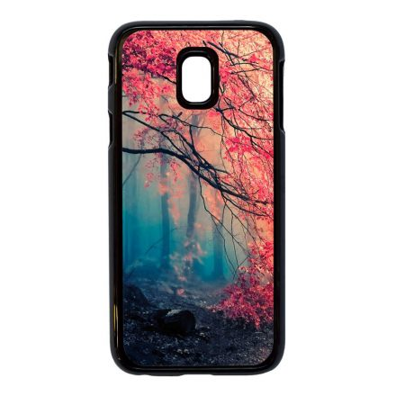 őszi erdős falevél természet Samsung Galaxy fekete tok