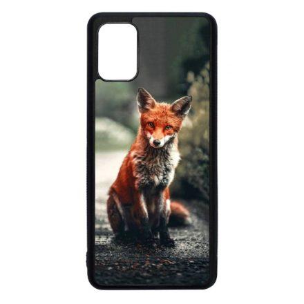 Autumn Fox őszi róka Samsung Galaxy fekete tok
