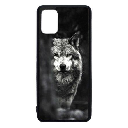 Az erdő farkasa wolf Samsung Galaxy fekete tok