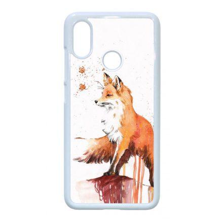 róka rókás fox Xiaomi Mi fehér tok