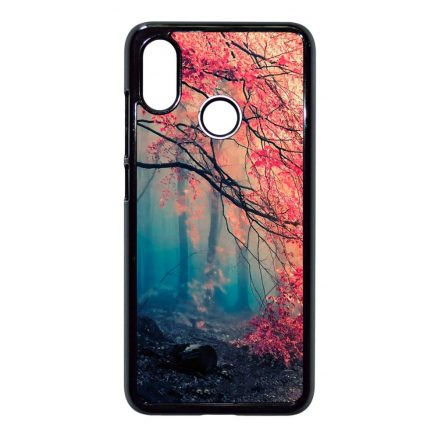 őszi erdős falevél természet Xiaomi Mi fekete tok