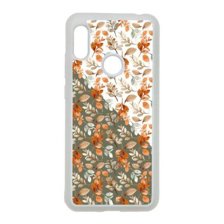 Gyönyörű őszi minta virágos Xiaomi átlátszó tok